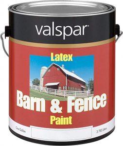 Valspar Barn & Fence Latex Paint