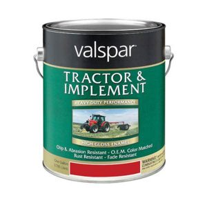 Valspar Tractor and Implement Paint